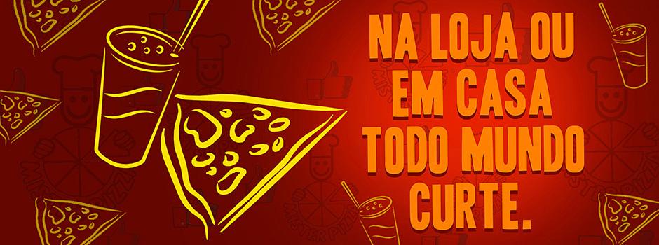 Mister Pizza no Facebook
